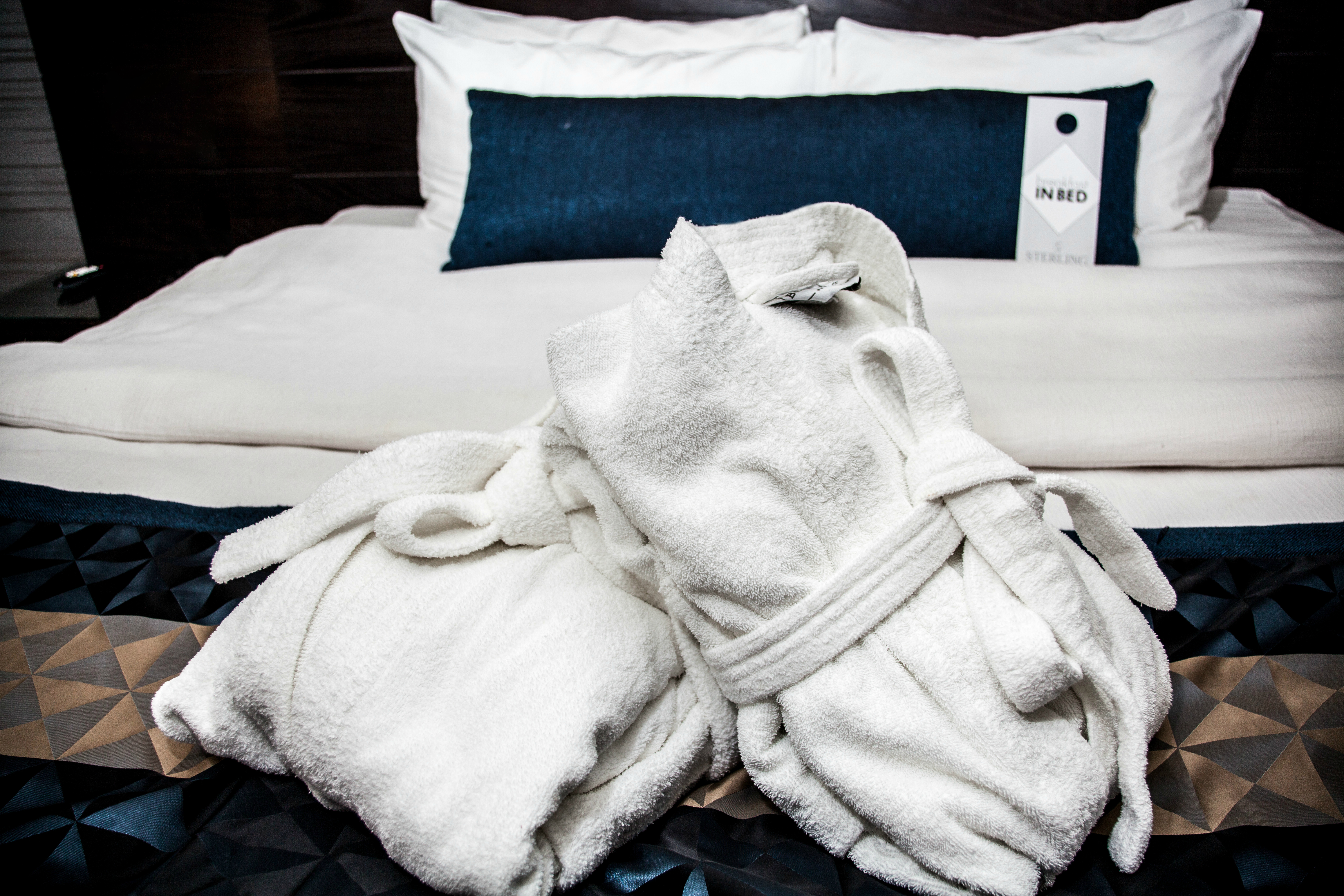 Robes on Bed - Sterling Inn & Spa
