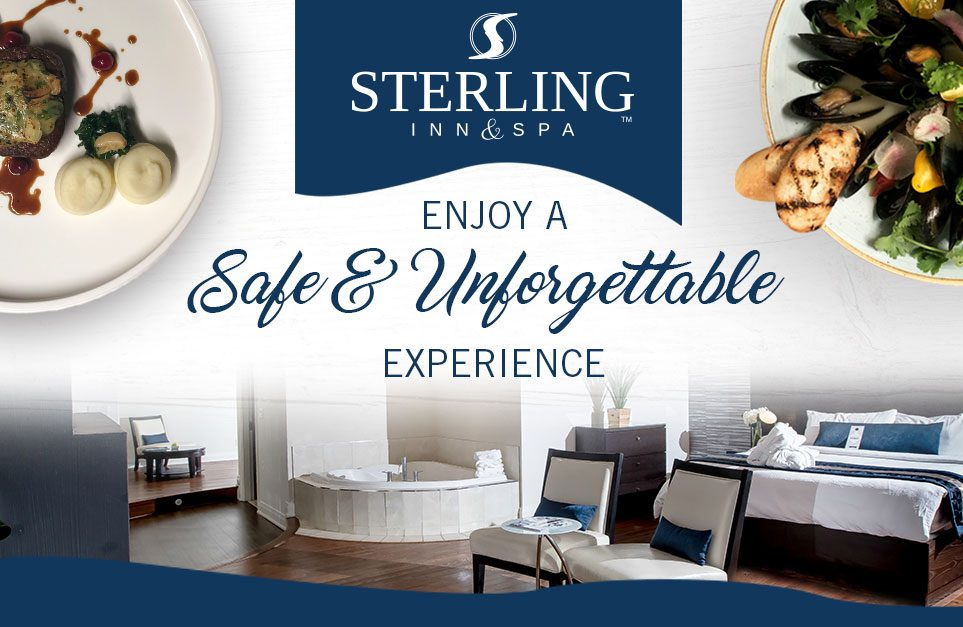 In Room Dining Experience at Sterling Inn & Spa